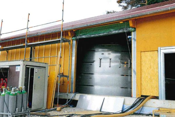 Neubau Trinkwasserhochbehälter Krottensee