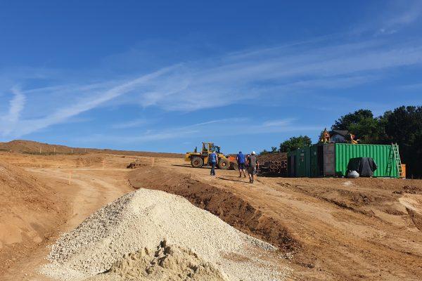 Kainsricht: Erschließung des Baugebiets Kainsricht-West beginnt